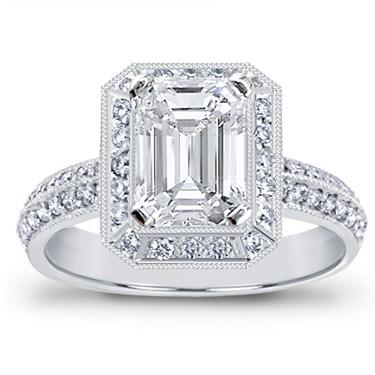 Unique Engagement Ring Settings Like Kelly Clarkson\'s