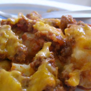 Chili Cheese Potato Casserole