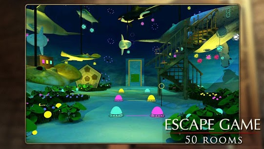 Escape Game: 50 rooms 1 Mod Apk (Unlimited Hints) 2