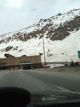 Photo: Still snow at the Eisenhower tunnel
