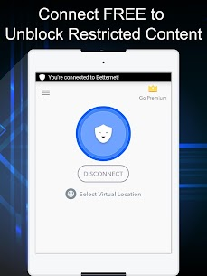 VPN Free – Betternet Hotspot VPN & Private Browser 6