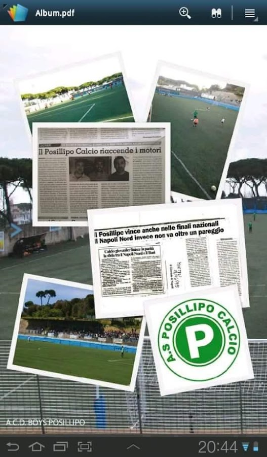 Posillipo Calcio- screenshot