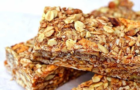 Healthy Granola Bar Recipes - náhled
