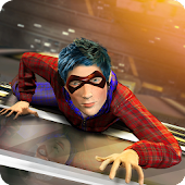 Super Spider Kid Hero City Battle: New Neighbor