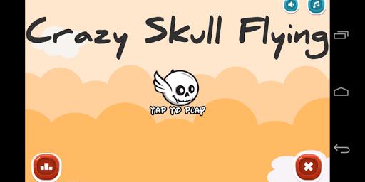 Crazy Skull Flying