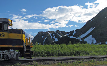 Photo: Portage Pass/Alaska Railroad