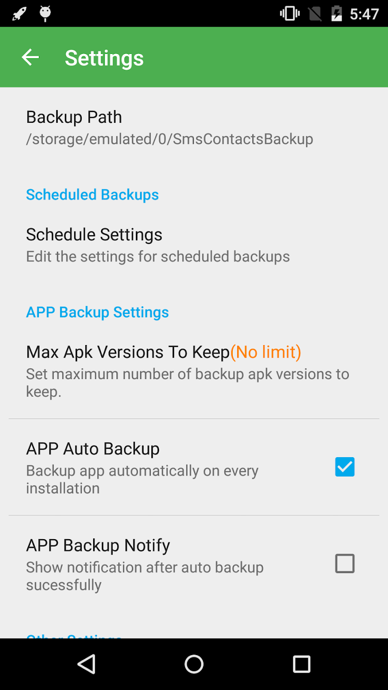 Super Backup & Restore Screenshot 3