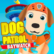 Dog patrol baywatch to rescue