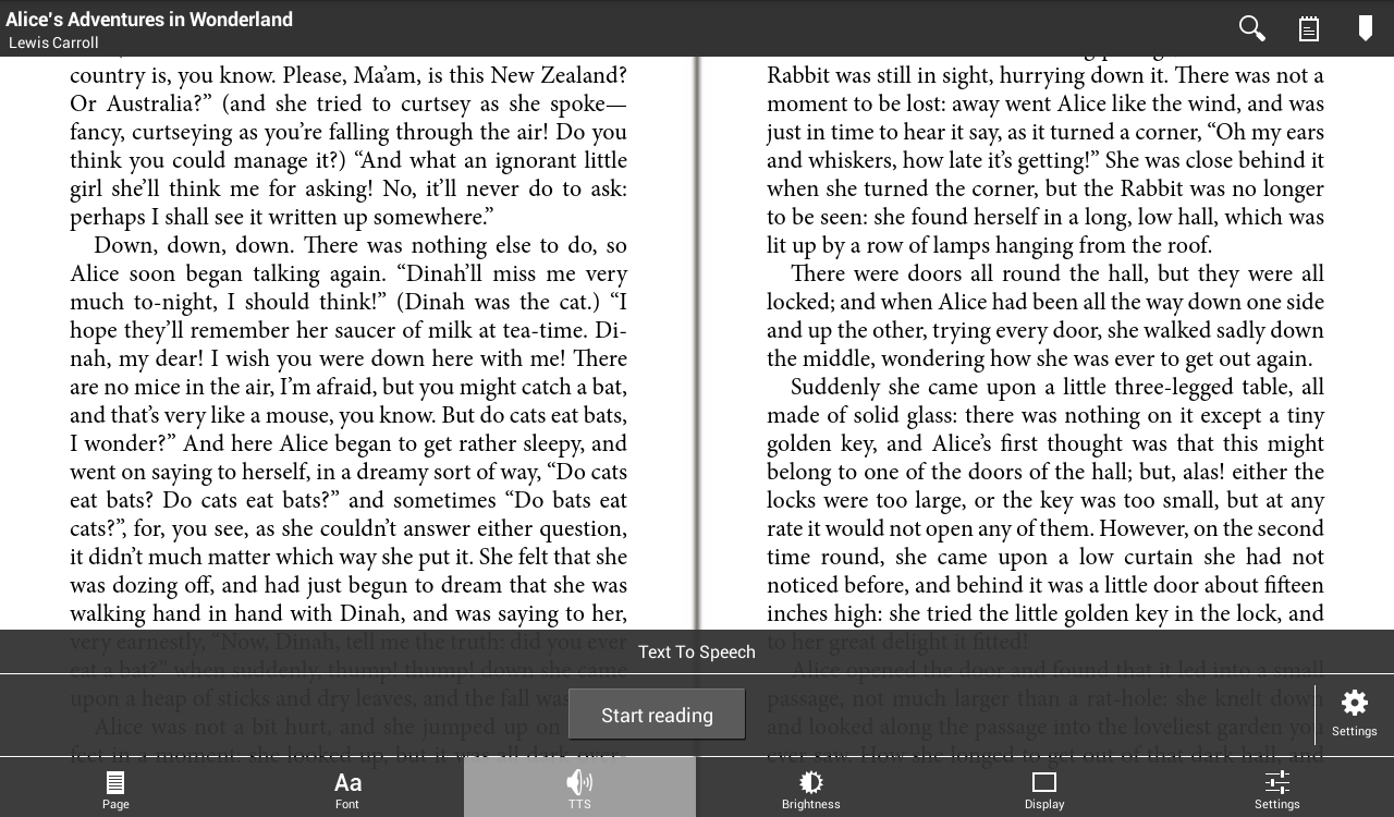 Universal Book Reader Full Key- screenshot