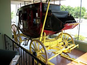 Photo: Butterfield Stagecoach in Bridgeport, TX