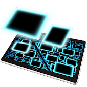 Infinite  Squares Particles 3D Live Wallpaper