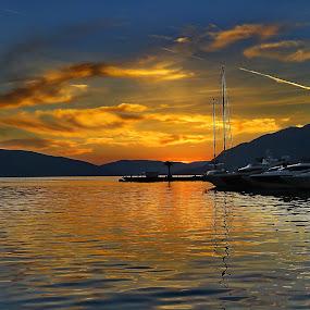 Tivat 2 - Montenegro by Andjela Miljan - Landscapes Sunsets & Sunrises (  )