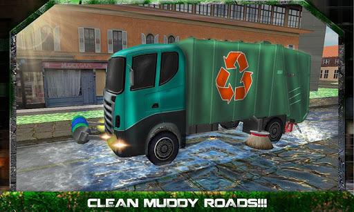 扫路车卡车司机2015年