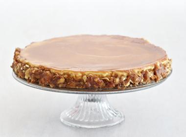 Salted Caramel Pretzel Cheesecake Recipe