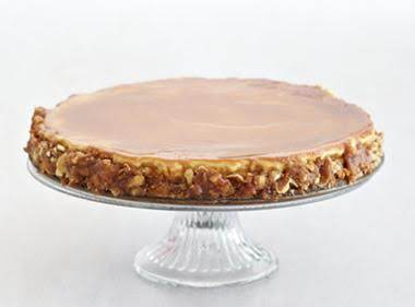 Salted Caramel Pretzel Cheesecake