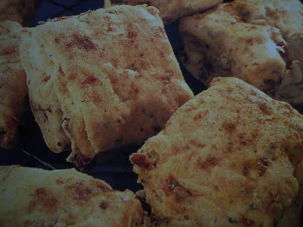 Ham And Sun-dried Tomato Biscuits Recipe