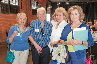 Photo: Penny (Pearson) Labourdette, Chuck and Bonnie (Merry) Booth, Peggy (Tremayne) Fussganger