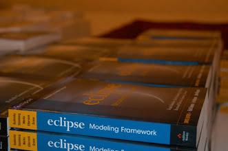 Photo: EMF Book, EclipseCon 2005