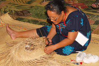 Photo: Photo: Basket Weaving Demonstration