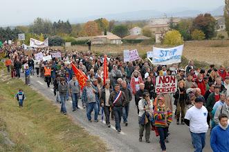 Photo: Grand Rassemblement Citoyen à Barjac le dimanche 23 octobre 2011 - plus de 6000 citoyens - © Olivier Sébart