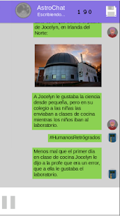 AstroChat Mujeres Espaciales - náhled