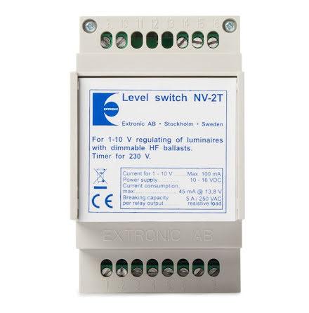 Nivåväljare NV-2T med timer, 1-10v