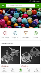 PandaHall Beads- screenshot thumbnail
