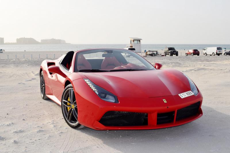 Weekend Car Rental Ferrari 488
