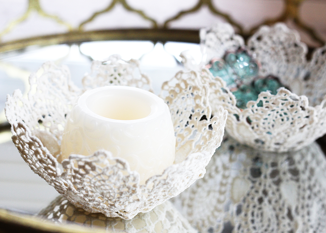 lace doily bowls, a craft that makes money