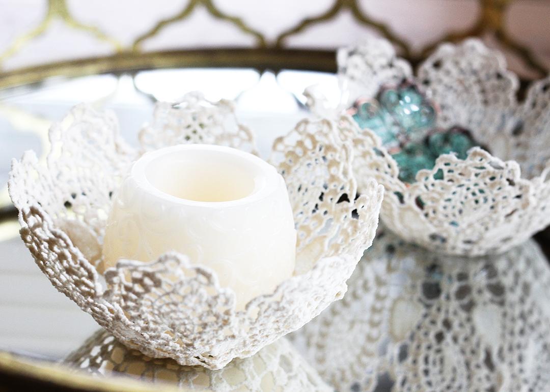lace doily bowls, a craft that makes money
