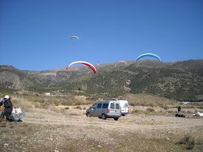 Photo: Castala (Almería) 25 feb. Aterrizaje.