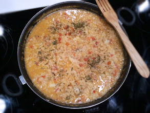 Photo: arroz caldoso con rape