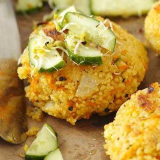 Vegan Couscous Cakes Recipe