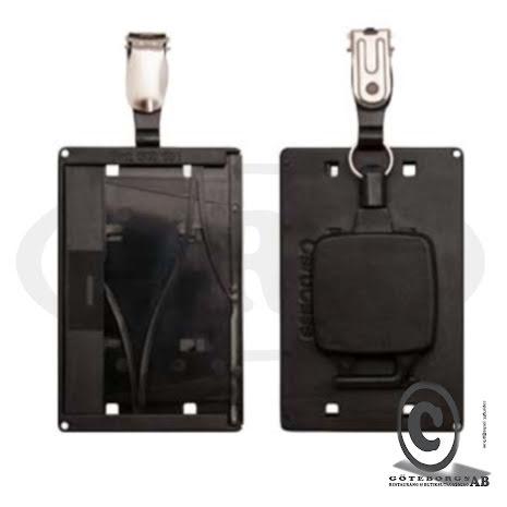 Magnetskortshållare jojo hängselklämma