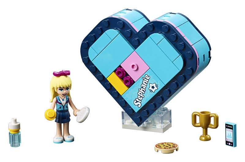 Contenido de Lego® 41356 Caja Corazón de Stephanie