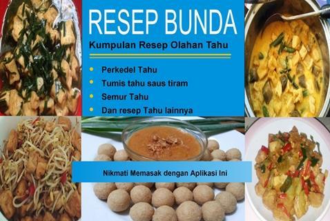 Resep Masakan Tahu
