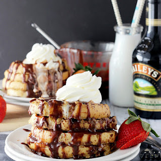 Bailey's Spiked French Toast.