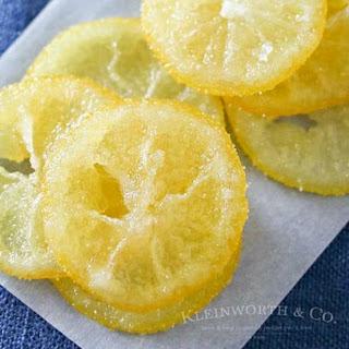 Candied Lemon Slices