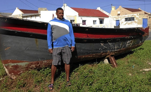 End of an era: Skipper Riaan Thompson tells how in 2016 he was asked to help save a boat in distress. Another was nearby but refused to help, sailing off to look for fish. Kassiesbaai's first doctor, Wilhelm Afrika blames the stopping of fishing rights for the change in the community and how people no longer care for one another. Picture: LIZ MCGREGOR