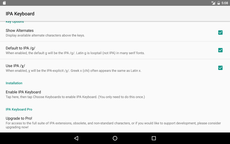 Ipa keyboard android apps on google play ipa keyboard screenshot biocorpaavc Images