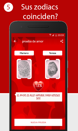 prueba de amor screenshot 1