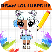How To Draw LOL surprise step by step Dolls
