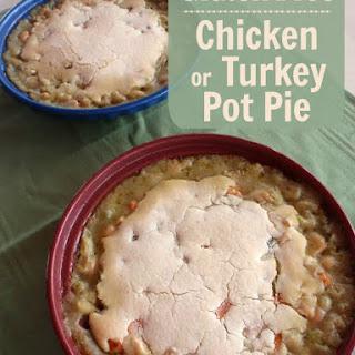 Pot Pie (Chicken, Turkey, or Vegan)