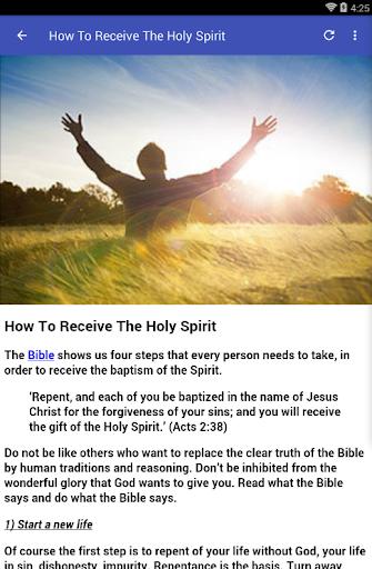 HOLY SPIRIT PRAYERS - Apps on Google Play