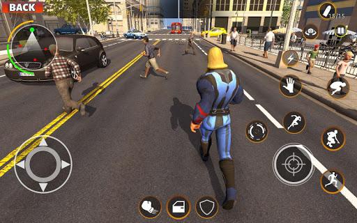 Gangster Target Superhero Games apktram screenshots 4