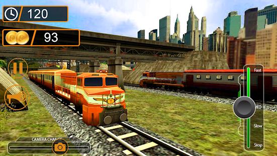 Orange Train Sims - náhled