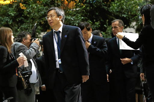 People's Bank of China governor Yi Gang. Picture: REUTERS