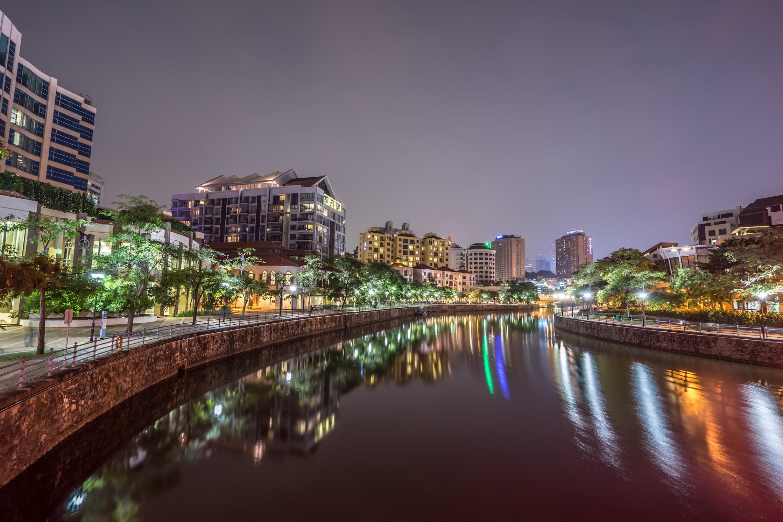 シンガポール ロバートソン・キー 夜景1