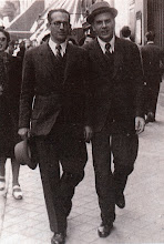 Photo: Toldra with his close friend Manuel Capdevila, in a picture taken in Madrid in 1942 © Family Archive (Mdm. Narcisa Toldrà)