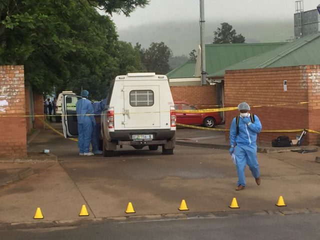A gang of robbers attacked the police station in the small town of Ngcobo.